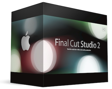 Final Cut Studio 2 Box